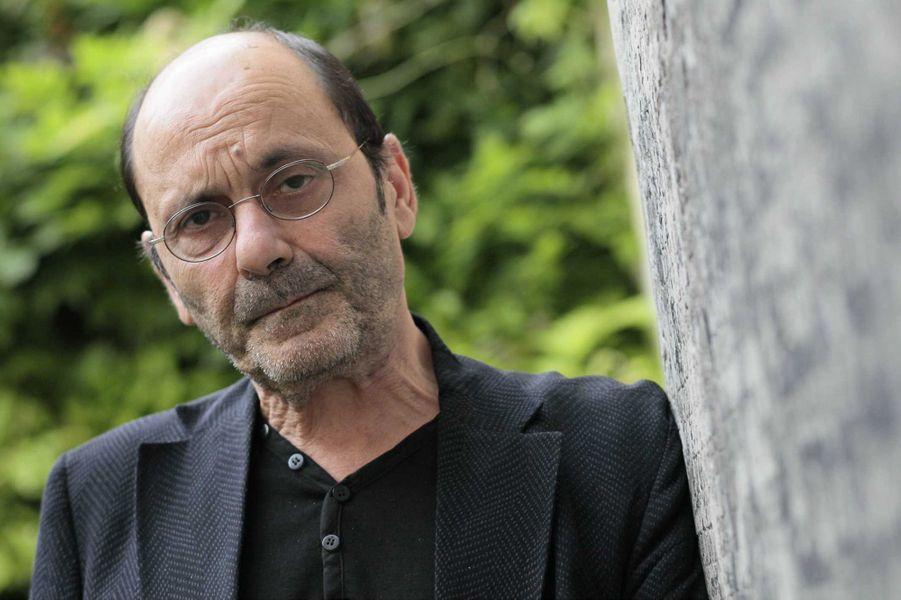 """Le comedien Jean-Pierre Bacri lors de la presentation du film """" Cherchez Hortense"""" en 2012."""