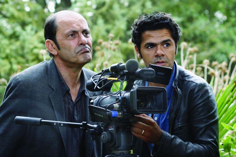 Jean-Pierre Bacri et Jamel Debbouze dans «Parlez-moi de la pluie» en 2008.
