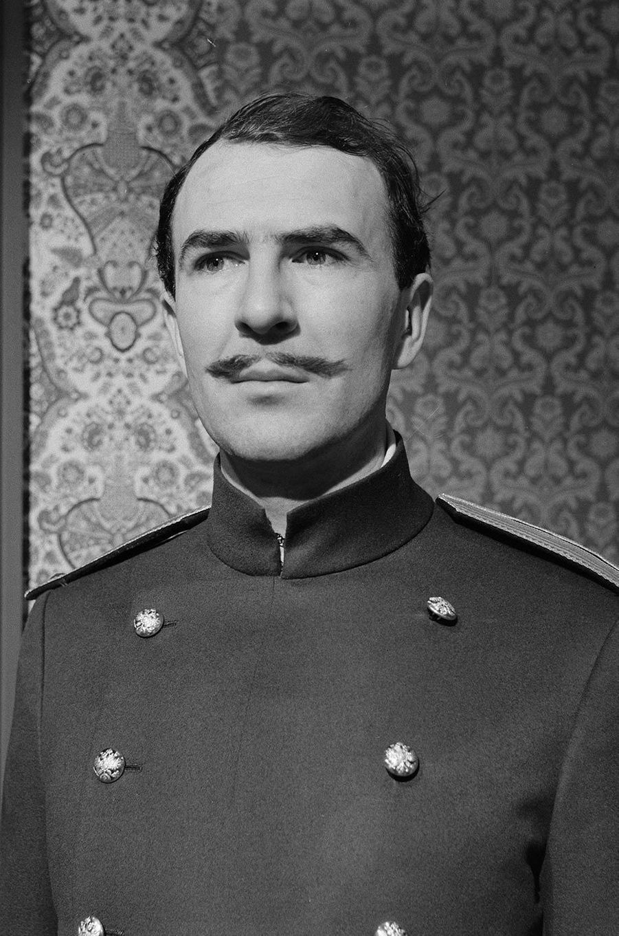 Jean-Pierre Marielle dans «Les trois soeurs», en 1960.