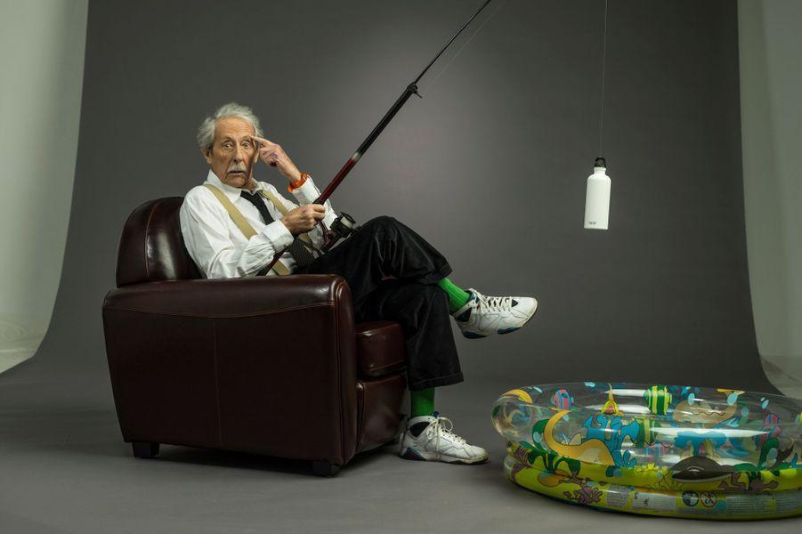 """Au studio Mac Mahon, en février 2013, à l'occasion de la sortie du film """"L'artiste et son modèle"""", de Fernando Trueba."""