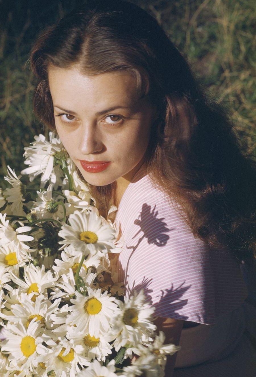 Portrait de Jeanne Moreau