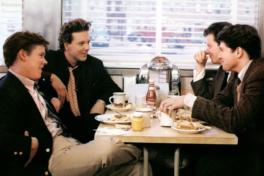 """Diner"" de Barry Levinson avec Mickey Rourke (1982)"