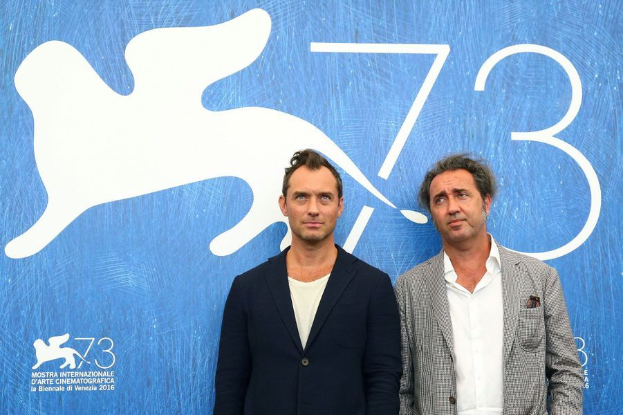 Jude Law et Paolo Sorrentino