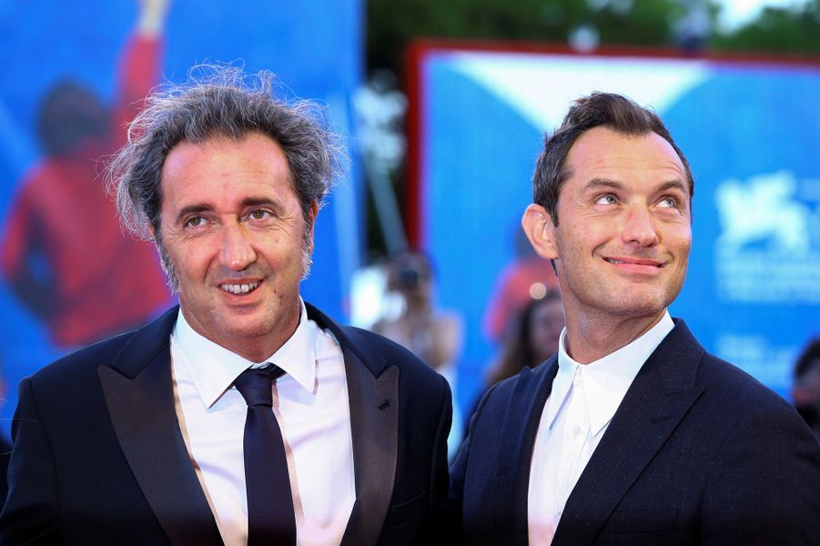 Paolo Sorrentino et Jude Law