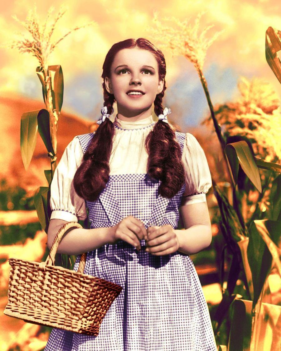 Judy Garland dans« LeMagicien d'Oz», en 1939.