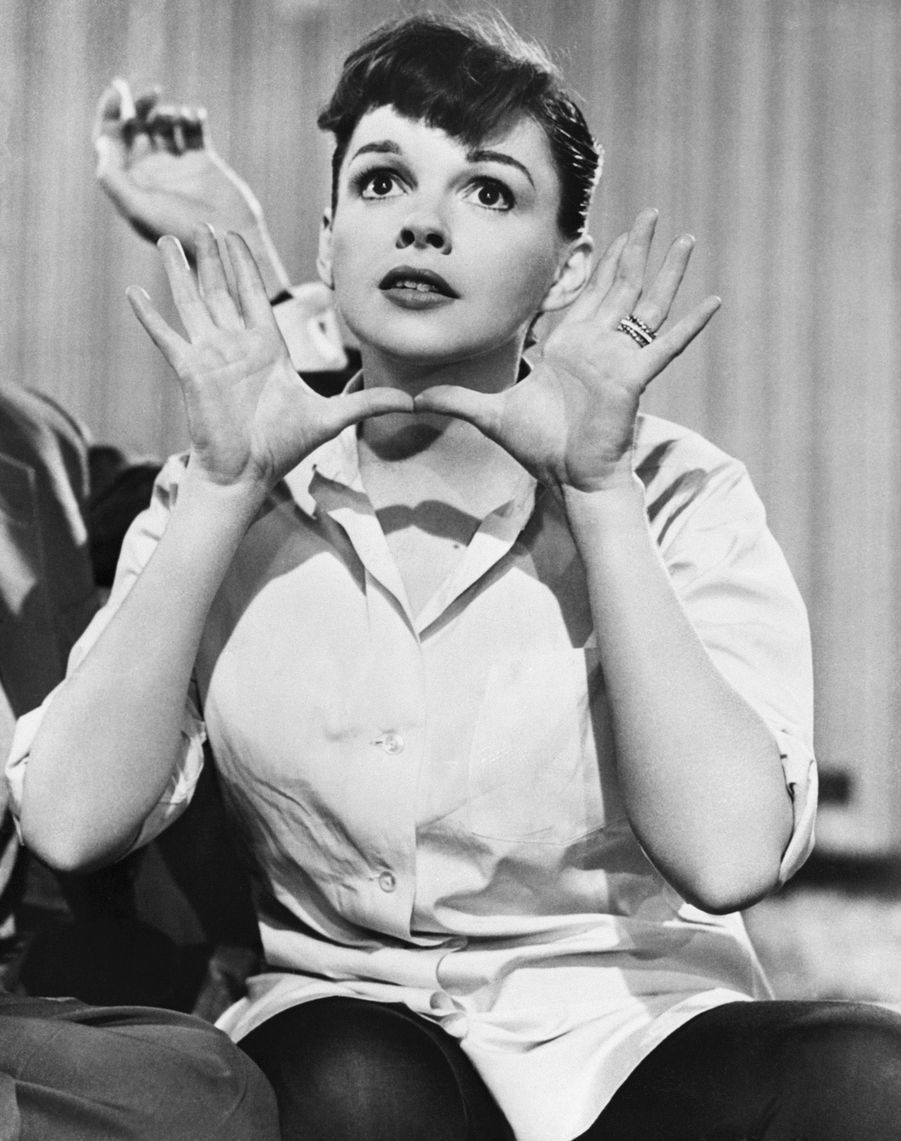 Judy Garland dans« Une étoile est née », en 1954.