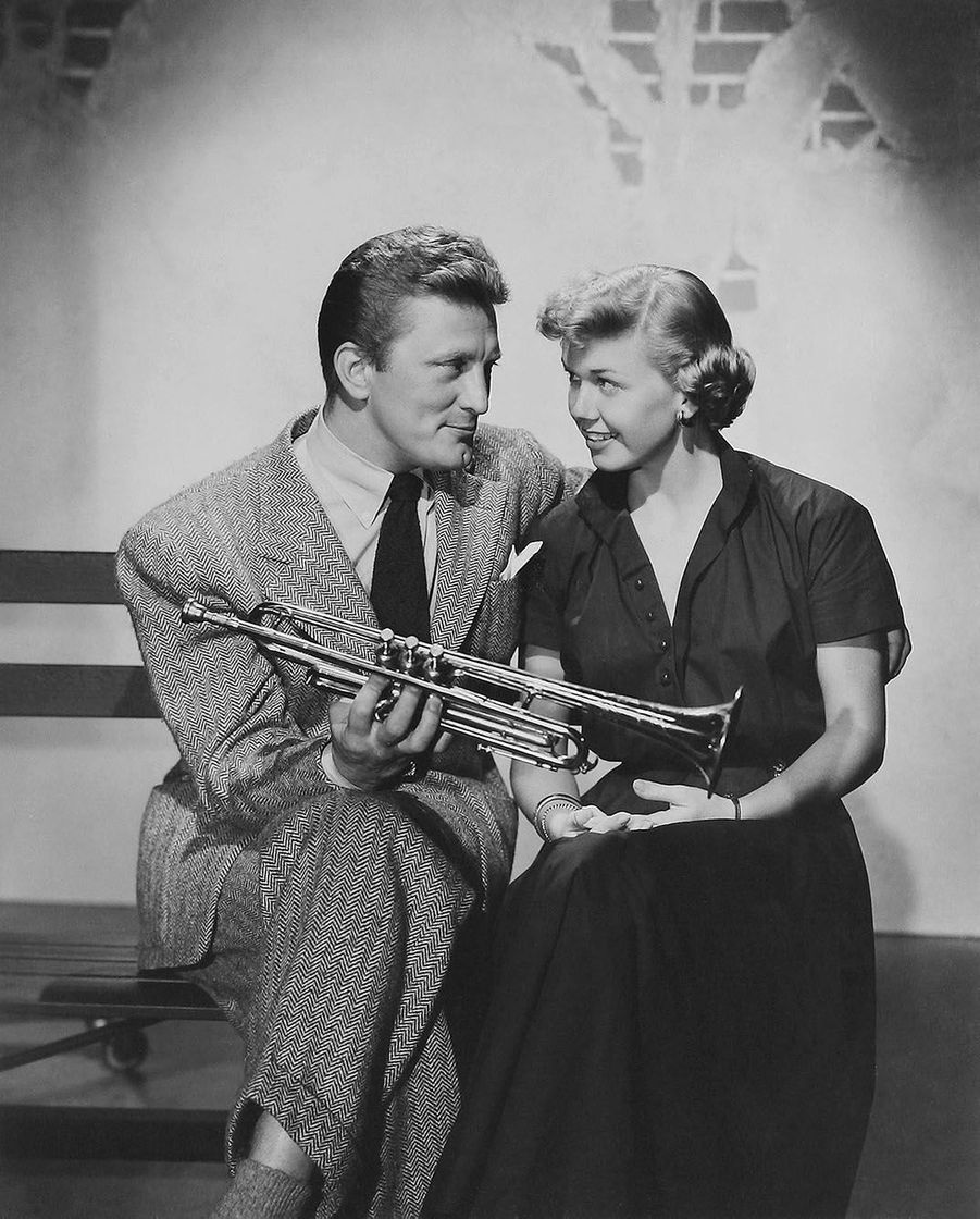 Kirk Douglas et Doris Day