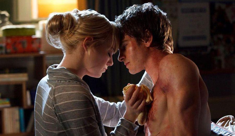 Le reboot de la franchise de l'homme-araignée, avec Andrew Garfield et Emma Stone.