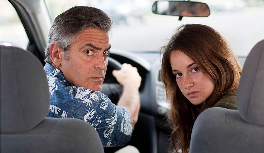 Oscars 2012. George Clooney en père de famille dépassé pourrait bien recevoir la récompense suprême.