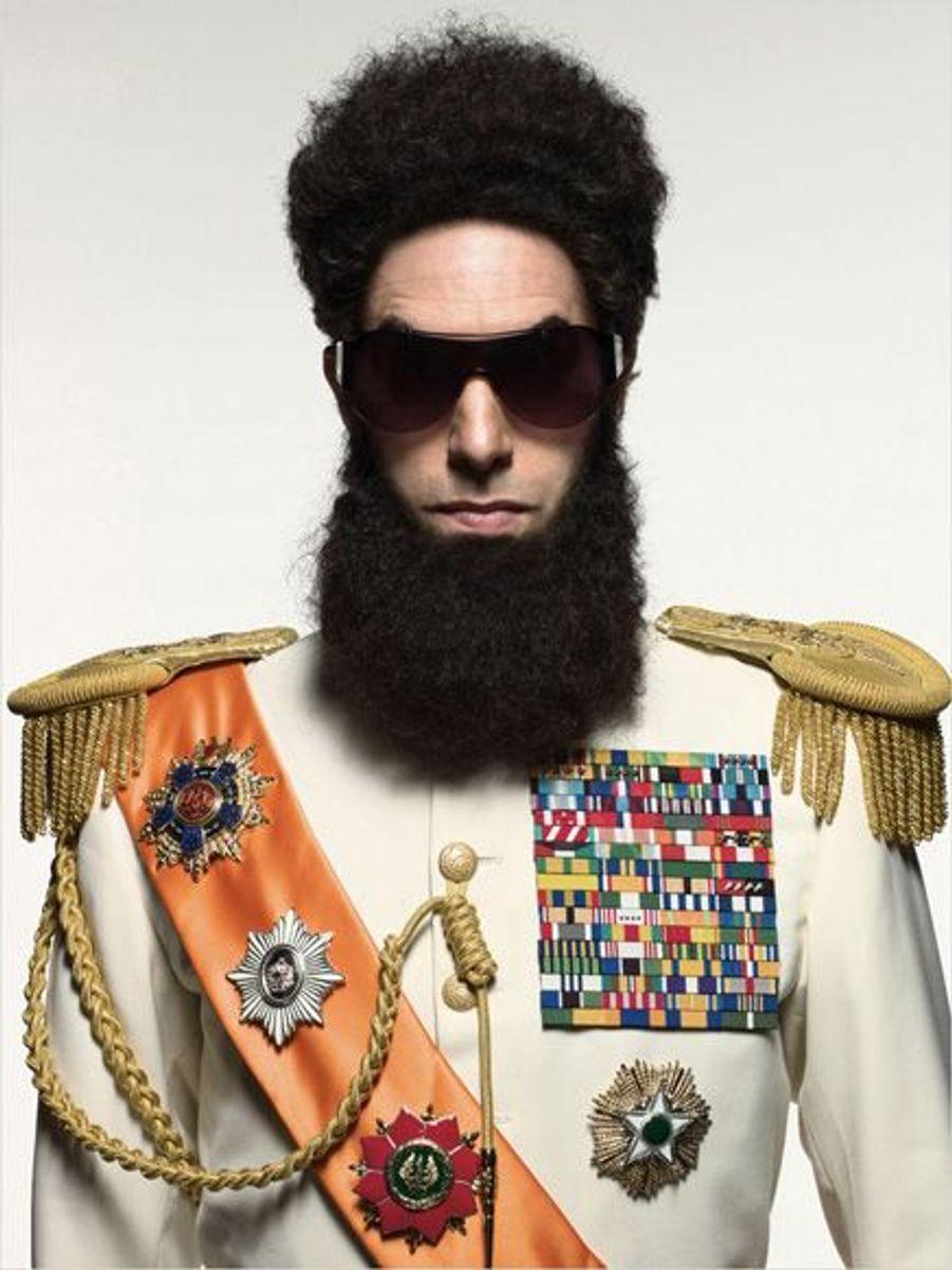"""Sacha Baron Cohen se glisse dans la peau d'un dictateur exilé aux Etats-Unis après """"Borat"""" et """"Bruno"""""""