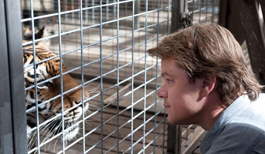 """Matt Damon et Scarlett Johansson dans le nouveau long métrage de l'auteur de """"Presque célèbre""""."""