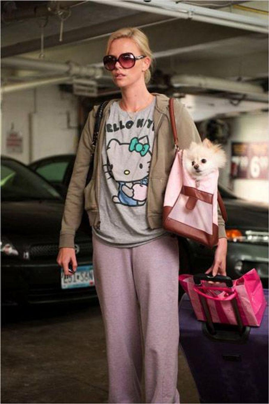 """Oscars 2012. Charlize Theron pourrait recevoir un nomination pour """"Young Adult""""."""