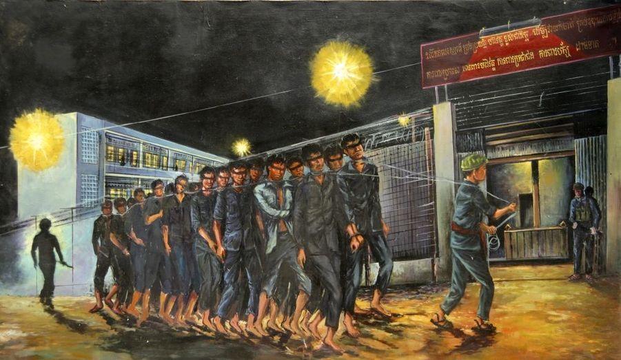 Le réalisateur cambodgien Rithy Panh a recueilli la parole de Kaing Guek Eav, dit Duch, a dirigé la prison M13 pendant 4 ans, avant d'être nommé à la tête du S21, la terrifiante machine à éliminer les opposants au pouvoir en place. Glaçant.