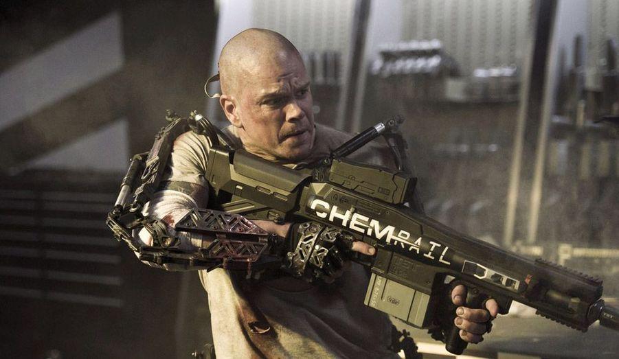 """Le réalisateur de """"District 9"""" revient avec un nouveau film de SF dans lequel Matt Damon joue un mercenaire."""