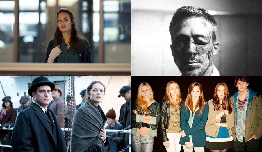 """On attend une nouvelle fois le meilleur du cinéma d'auteur et ces quatre films: de haut en bas, de gauche à droite, des images du """"Passé"""", d'""""Only God Forgives"""", de """"The Nightingale"""" et enfin de """"The Bling Ring""""."""