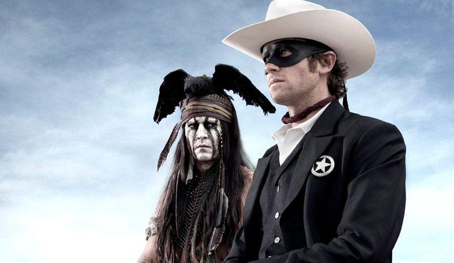 Gore Verbinski retrouve son ami Johnny Depp pour un western maquillé.