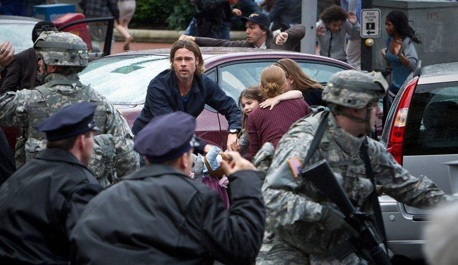 Le projet maudit de l'année, avec Brad Pitt qui tente de survivre en milieu zombie.