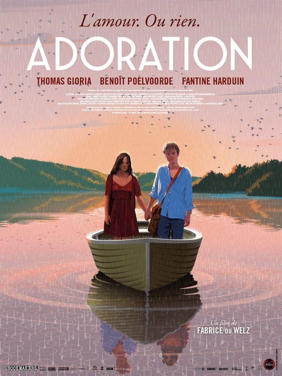 """""""Adoration""""de Fabrice Du Welz (sortie le 22 janvier 2020)."""