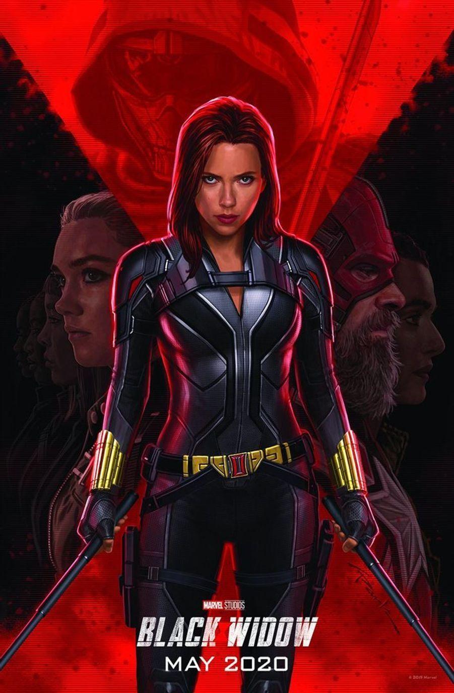 """""""Black Widow"""" de Cate Shortland(sortie le 29 avril 2020)."""