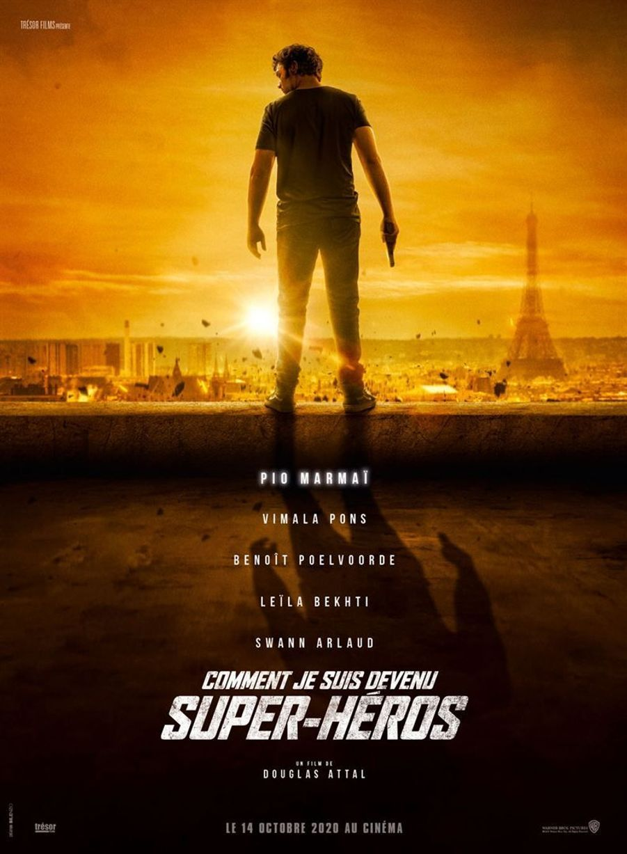"""""""Comment je suis devenu super-héros""""de Douglas Attal (sortie le 14 octobre 2020)"""