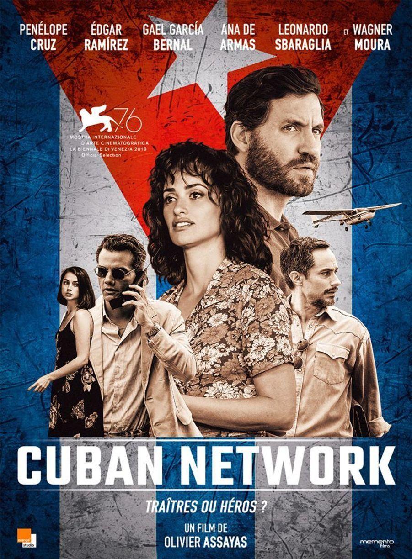 """""""Cuban Network""""de Olivier Assayas (sortie le 29 janvier 2020)"""