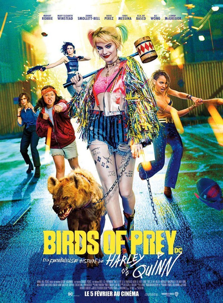 """""""Birds of Prey et la fantabuleuse histoire de Harley Quinn""""de Cathy Yan (sortie le 5 février 2020)."""