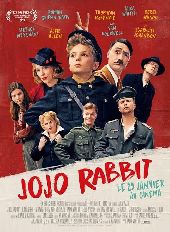 """""""Jojo Rabbit"""" de Taika Waititi (sortie le 29 janvier 2020)."""