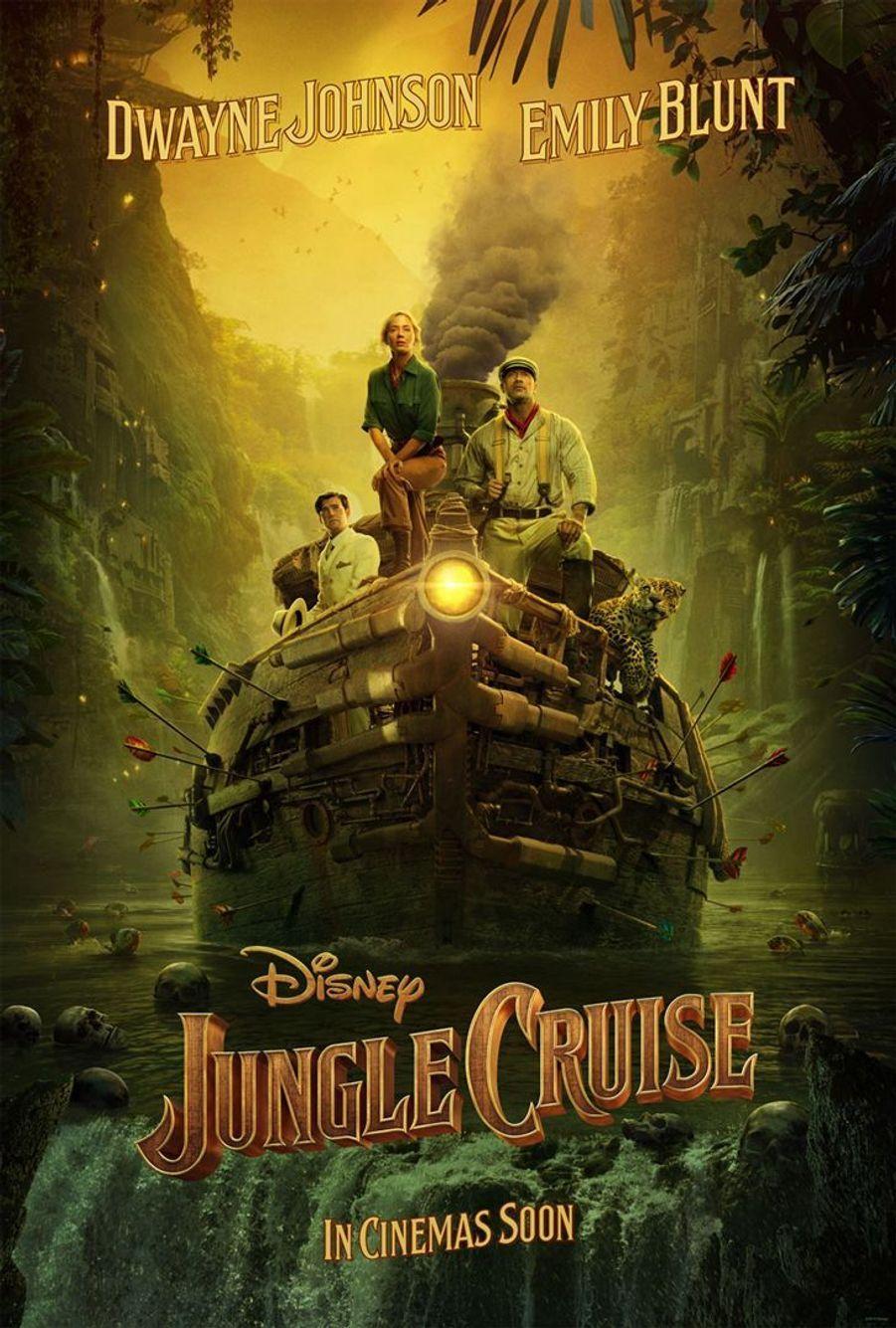 """Jungle Cruise""de Jaume Collet-Serra (sortie le 29 juillet 2020)"