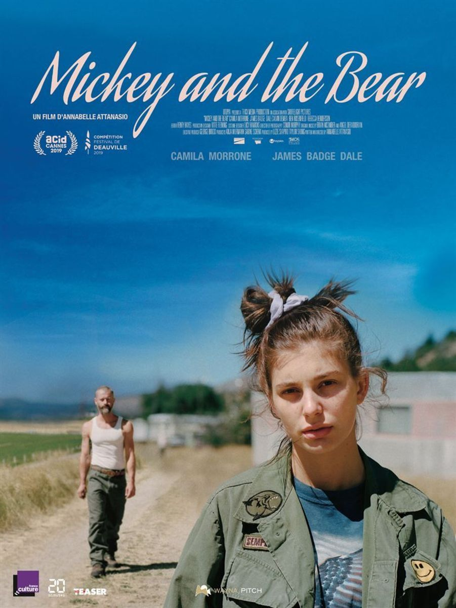 """""""Mickey and the Bear"""" d'Annabelle Attanasio (sortie le 12 février 2020)"""