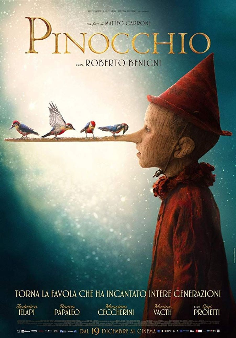 """Pinocchio"" de Matteo Garrone (sortie le 18 mars 2020)"
