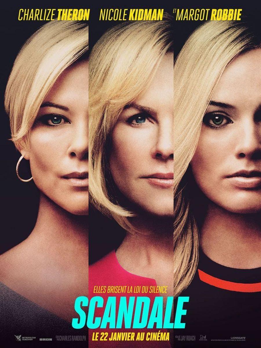 """""""Scandale"""" de Jay Roach (sortie le 22 janvier 2020)."""