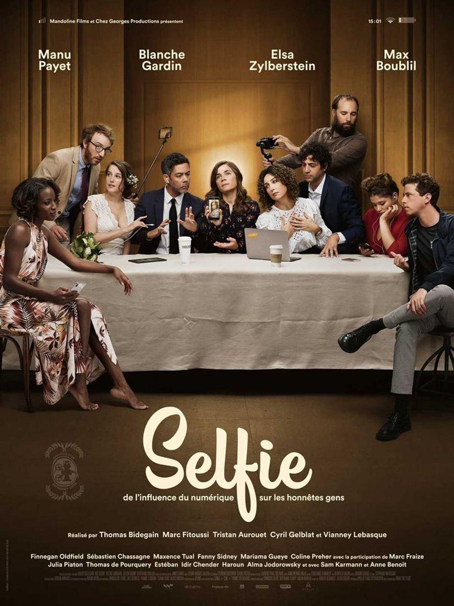 """""""Selfie"""" de Thomas Bidegain, Marc Fitoussi, Tristan Aurouet (sortie le 15 janvier 2020)."""