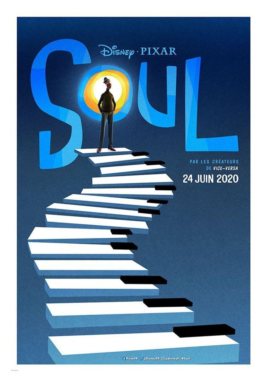 """""""Soul""""de Pete Docter, Kemp Powers (sortie le 24 juin 2020)"""