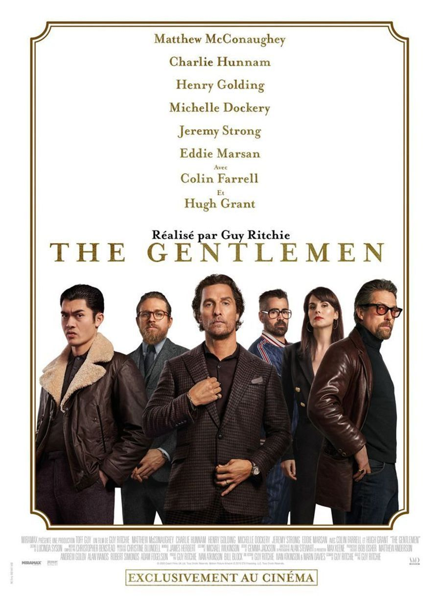 """The Gentlemen""de Guy Ritchie (sortie le 5 février 2020)."