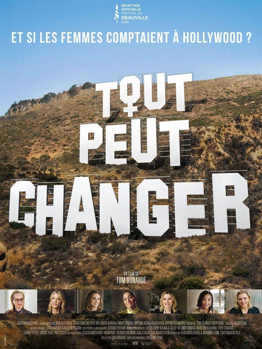 """""""Tout peut changer, Et si les femmes comptaient à Hollywood ?""""de Tom Donahue (sortie le 22 février)"""