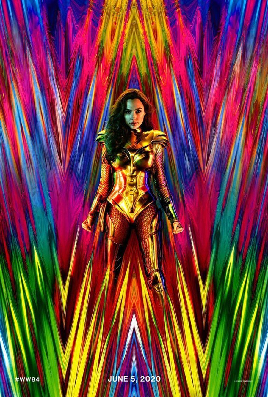"""Wonder Woman 1984"" de Patty Jenkins (sortie le 27 mai 2020)."