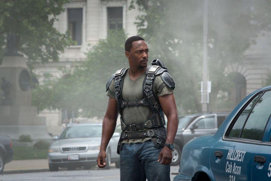 "Anthony Mackie ('Captain America"" 2 et 3)"