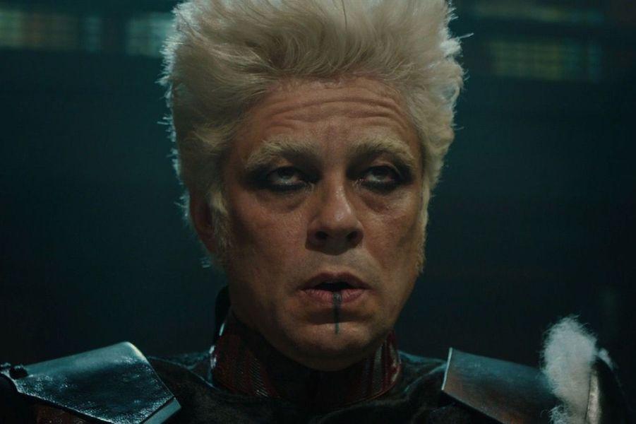 """Benicio del Toro (""""Les Gardiens de la Galaxie"""")"""