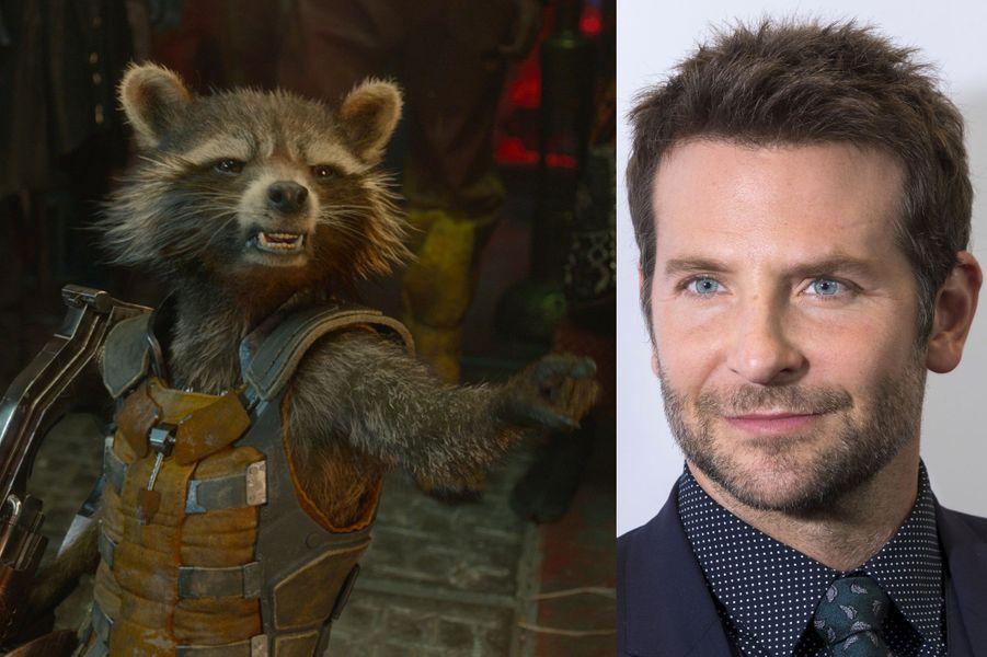"""Bradley Cooper (""""Les Gardiens de la Galaxie"""")"""