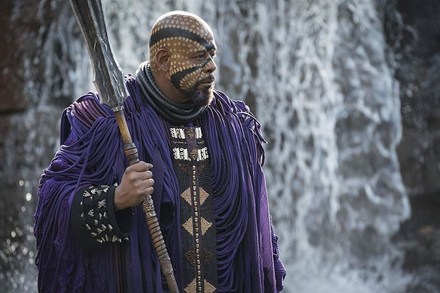 """Forest Whitaker (""""Black Panther"""")"""
