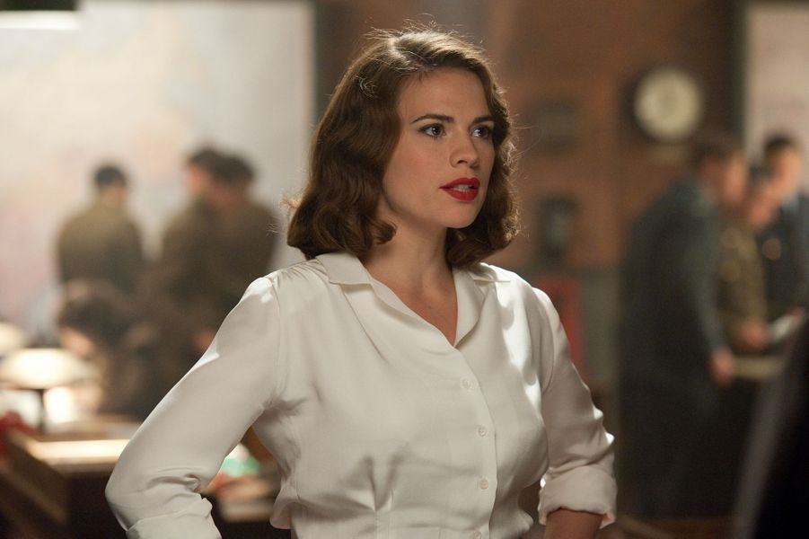 "Hayley Atwell (""Captain America: The First Avenger"")"