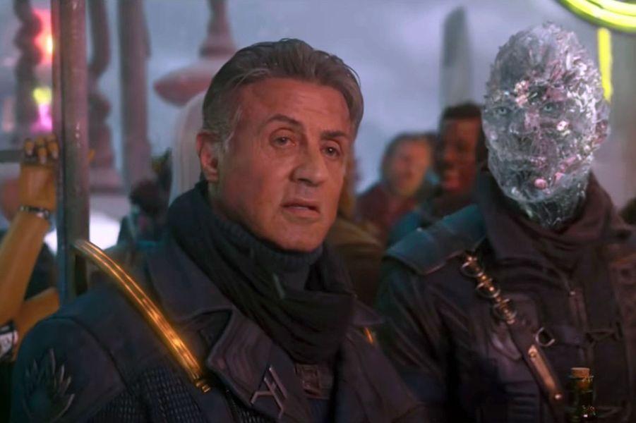 """Sylvester Stallone ("""" Les Gardiens de la Galaxie Vol. 2"""")"""