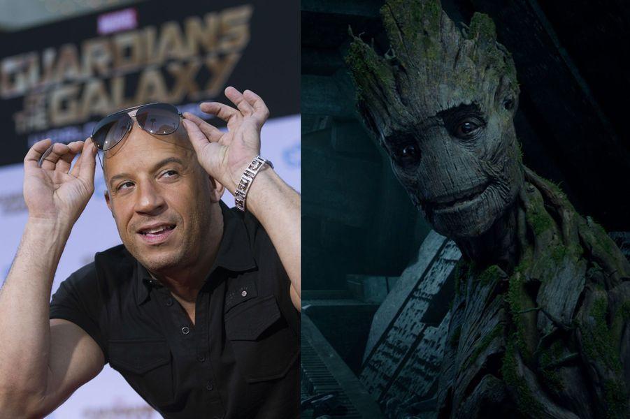 "Vin Diesel (""Les Gardiens de la Galaxie"")"