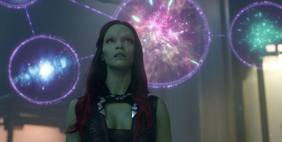 """Zoe Saldana (""""Les Gardiens de la Galaxie"""")"""