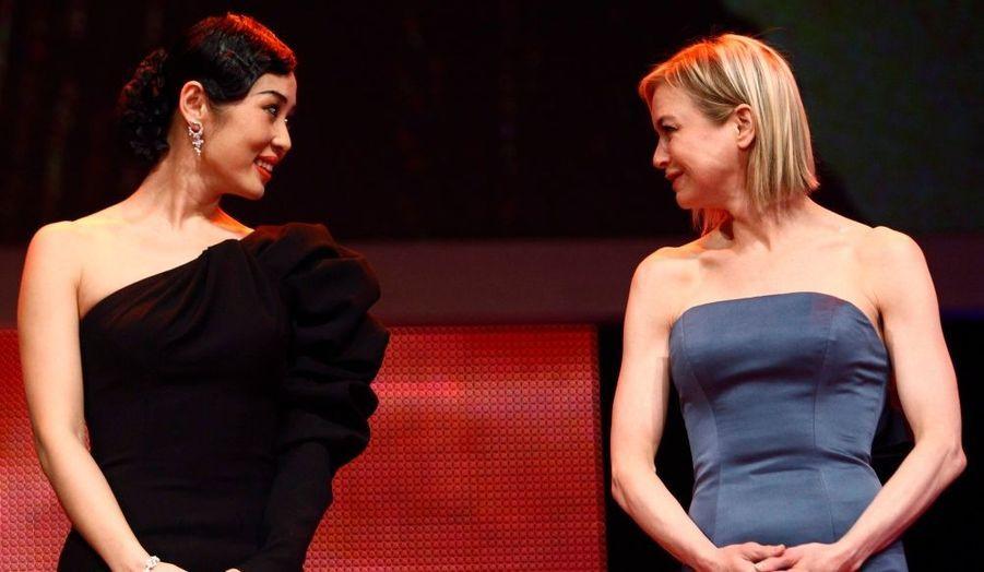 Le jury du festival de Berlin côté glamour, avec les magnifiques Yu Nan et Renée Zellwegger.