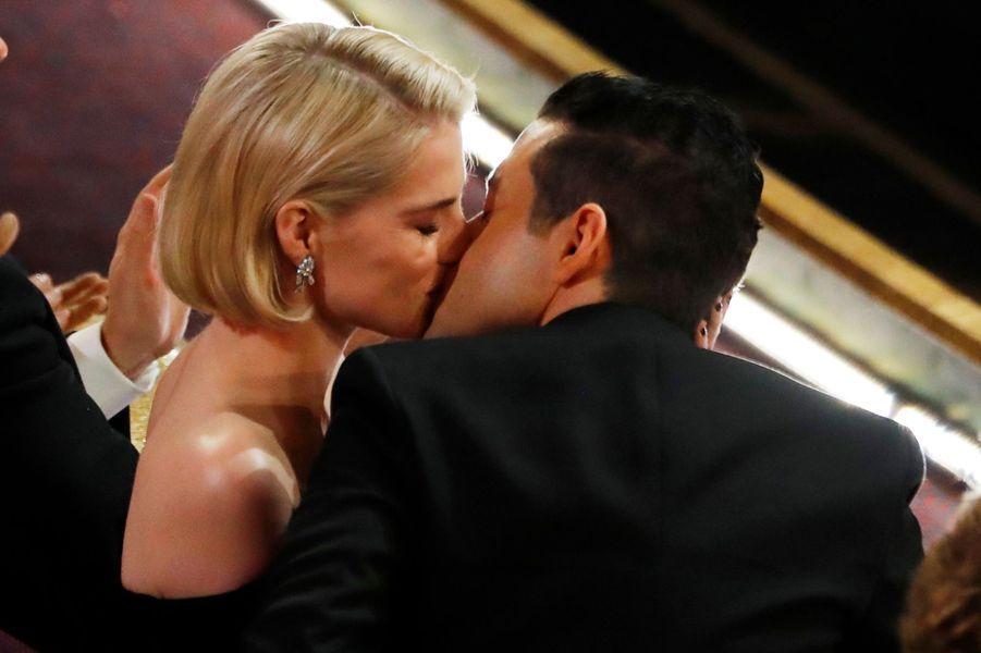 Rami Malek et sa fiancéeLucy Boynton