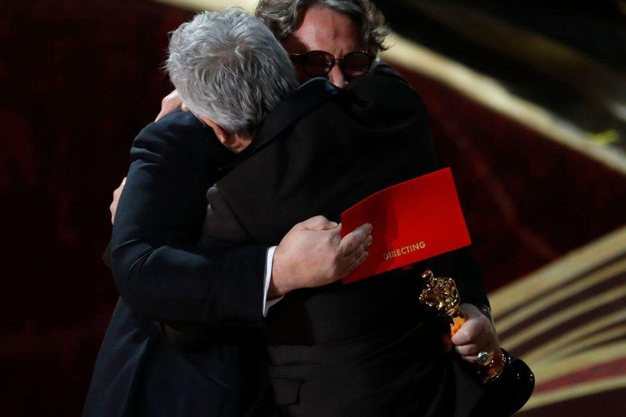 Alfonso Cuaron et Guillermo del Toro