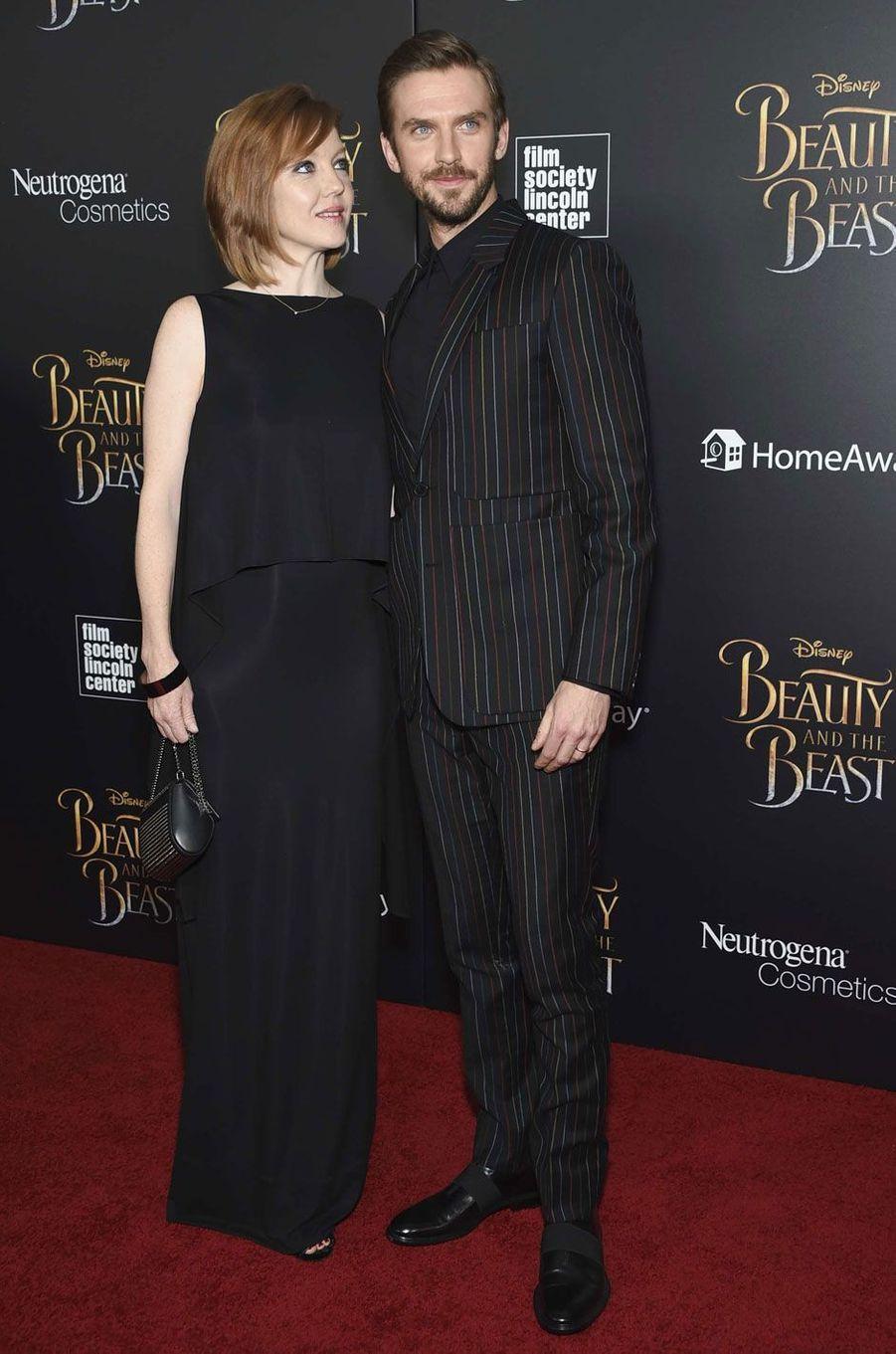 Dan Stevens et sa femme Susie Stevens.