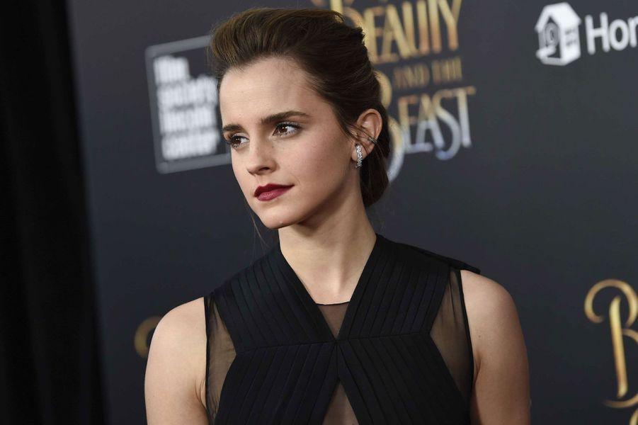 L'actrice Emma Watson à New York.