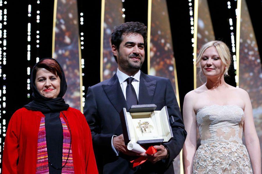 """Prix de l'interprétation masculine: Shahab Hosseini pour """"Le Client"""" d'Asghar Farhadi"""